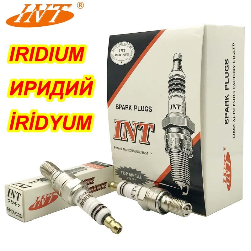 1 Pc Int Iridium Motor Bougie EHIX-CR8 Voor CR8EHIX-9 CR8EH-9 IUH24 UH4CC RGU94C 98059-5891F CR8EHVX-9 IMR8C-9H CBR400