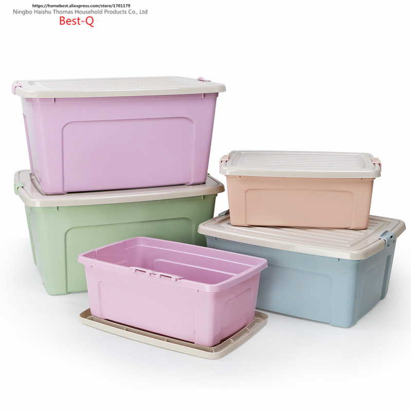 Aliexpress.com : Buy Free Shipping Large Size Cover, Storage Box, Wardrobe,  Storage Case, Plastic Thickening Clothing Case, Toy Box From Reliable  Storage ...