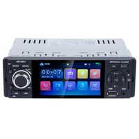 Touch Bluetooth Car Radio 1 Din Mirror Link Stereo Audio Mp5 Video Player Usb Mp3 Tf Iso Head Unit Jsd 3001