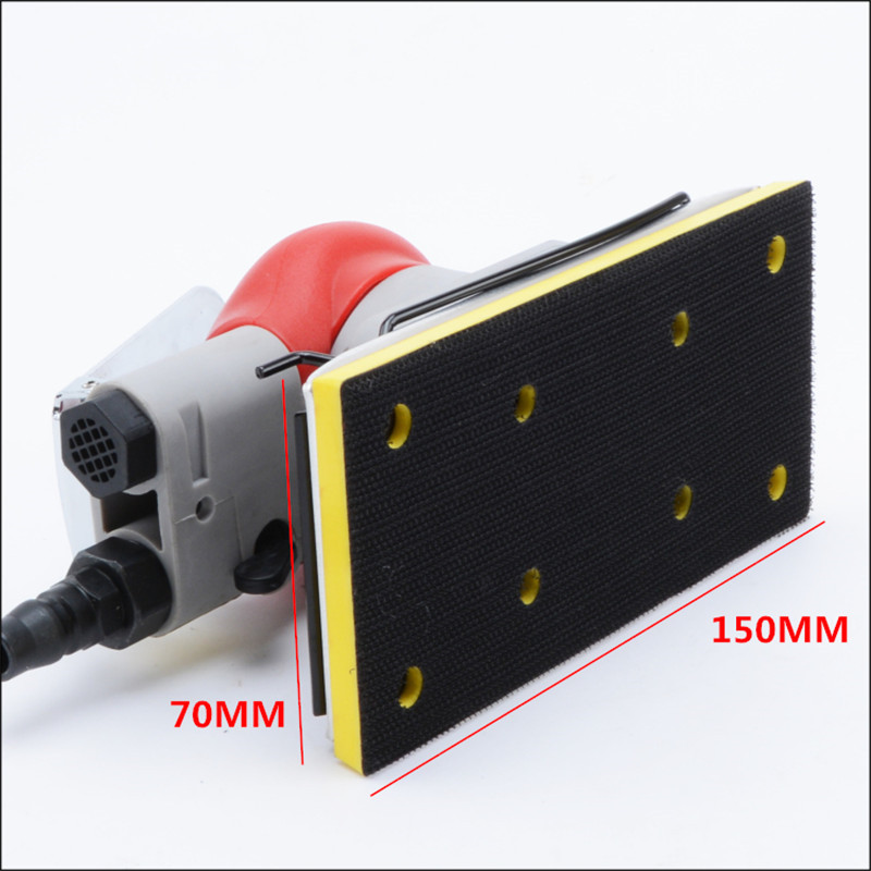20331 base for vibration pneumatic sanding machine chassis for air sanding tool wind sander accessories 70X150mm 3 pieces in one free shipping reciprocating type pneumatic sanding tool air polishing machine wind grinding tool sander machine 3mm move track