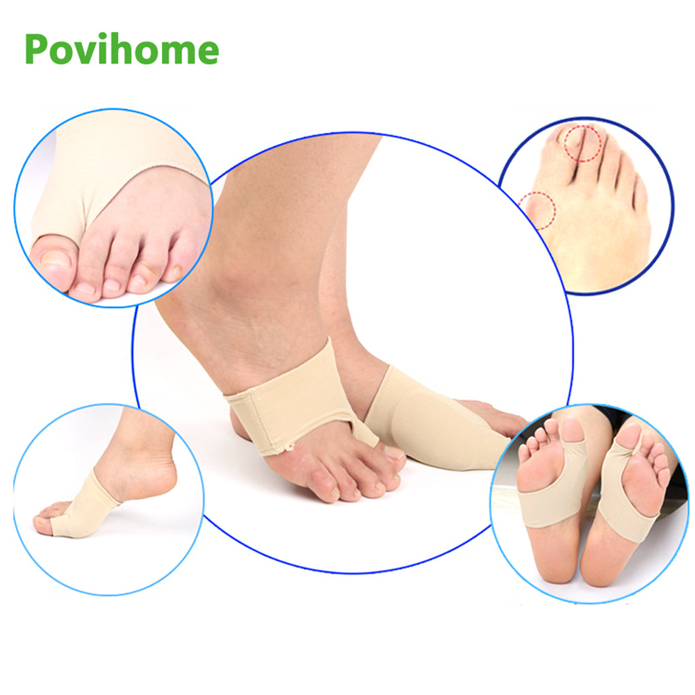 2Pcs Soft Bunion Corrector Toe Separator Splint System Correction Hallux Valgus Foot Care Pedicure Orthotics Tool for legsZ27201