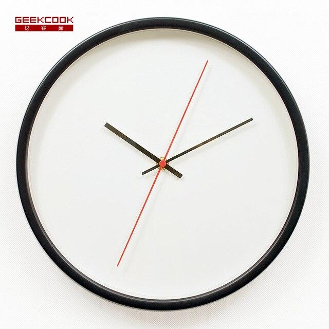 30CM Wall Clock Saat Clock Duvar Saati Metal Digital Wall Clocks Horloge Murale Relogio de parede Orologio da parete Home decor