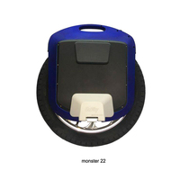 GotWay Monster 22 Titan 2400WH Electric unicycle Outdoor sports equipment, the maximum speed of 55KM/H+, battery life 200KM+