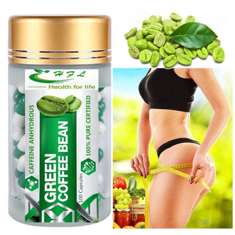 Pure Organic Green Coffee Been Extract Supports Weight Loss All Natural Non Gmo 100 Count Body Glitter Aliexpress