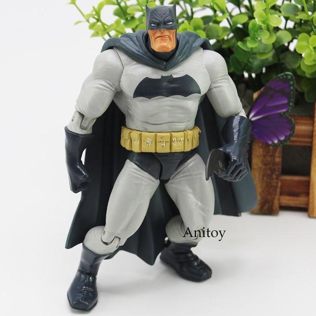 Figura de Ação Batman Superhero Figura Gordura Com Arma de Brinquedo Caçoa o Presente 18 cm KT4550
