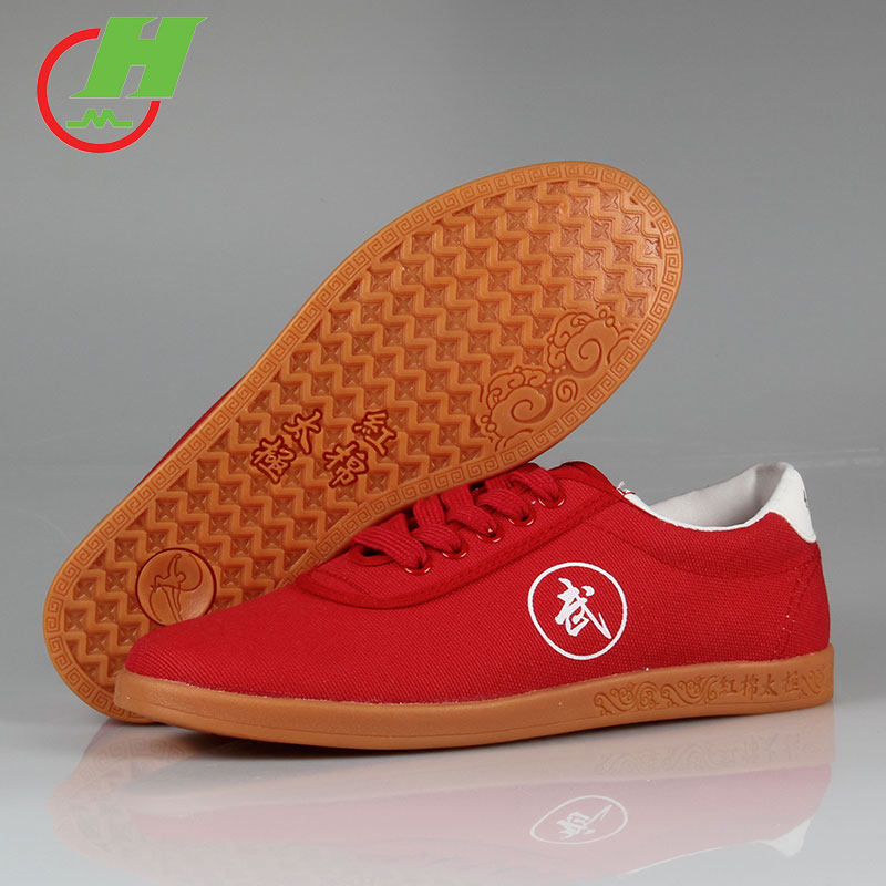Белый черный красный парусиновая обувь для бега кунг-фу ушу тайчи Тай Цзи