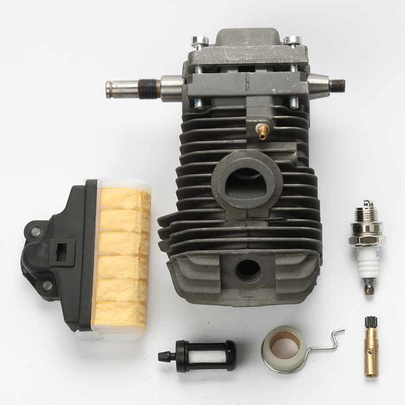 42.5MM Crankshaft Cylinder Piston Kits For Stihl 023 025 MS230 MS250 Chainsaw Air Fuel Filter Oil Pump 42 5mm cylinder piston for stihl 023 025 ms230 ms250 crankshaft carburetor carb with gasket chainsaw engine