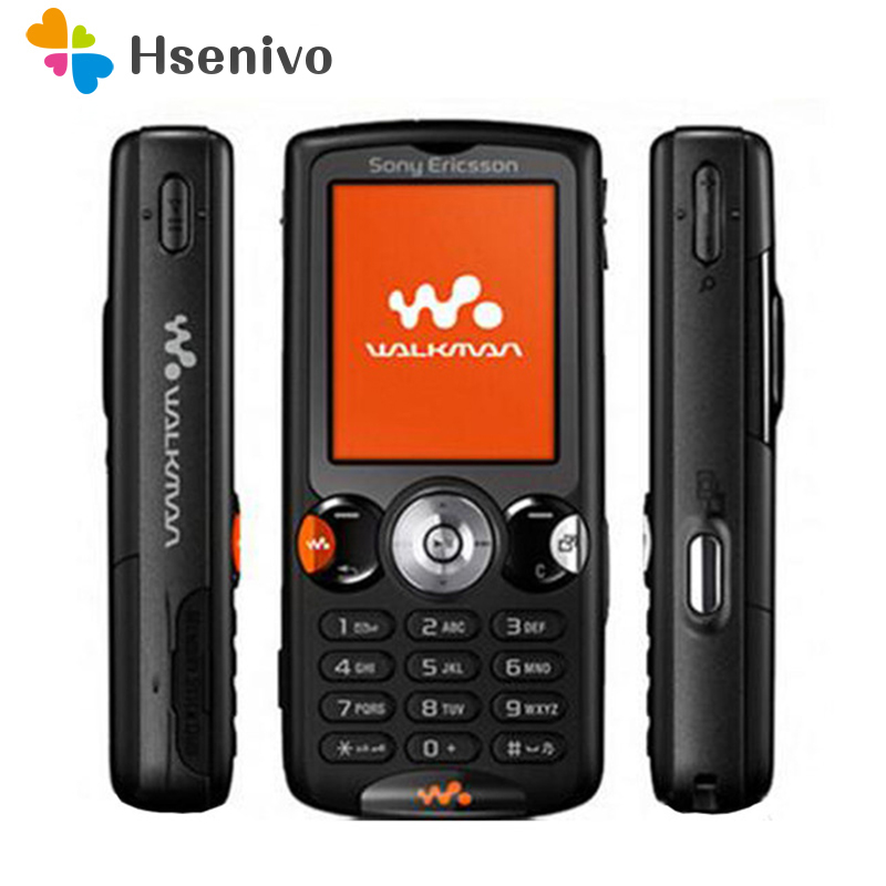 100% Original Sony Ericsson W810 Mobile Phone 2.0MP Bluetooth Unlocked W810i Cell Phone Free Shipping
