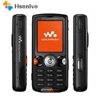 100% oryginalny Sony Ericsson W810 telefon komórkowy 2.0MP Bluetooth odblokowany W810i telefon komórkowy darmowa wysyłka