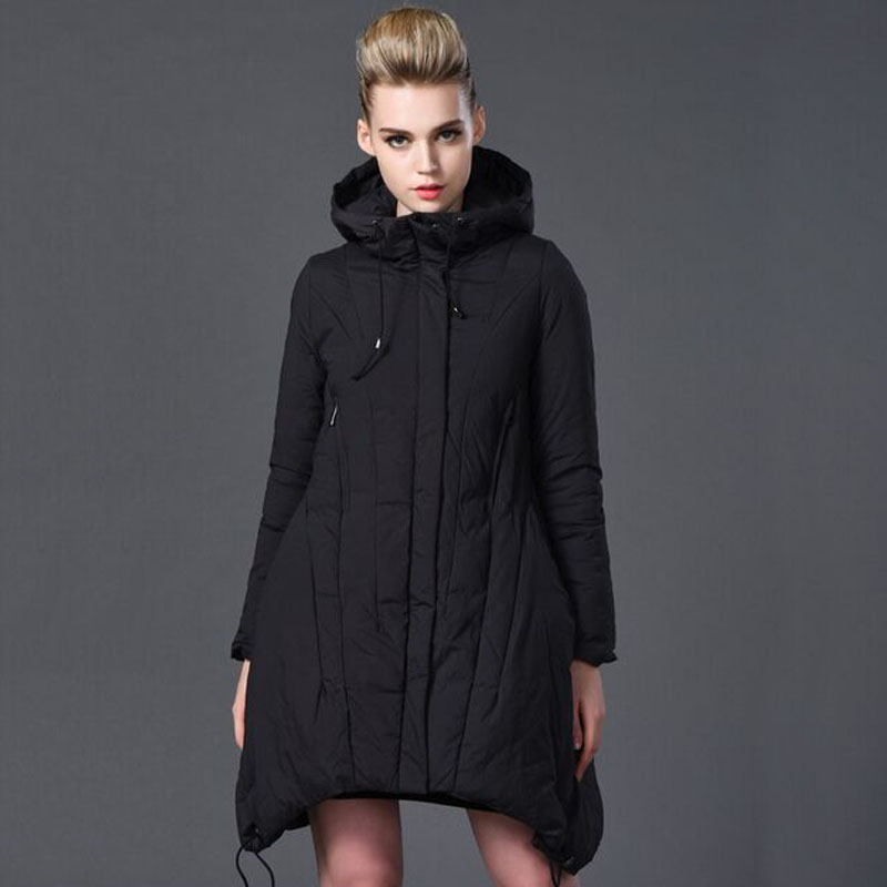High Quality Down Parka 2017 New Winter Jacket Women Loose Warm Female Jacket Plus Size 6XL Outwear Parkas For Women Winter 2017 new boy anorak winter jacket juveniles winter jacket high quality warm plus down and parka anorak jacket