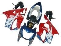 L36 red blue ABS plastic parts for HONDA CBR 600 F4 1999 2000 full fairing 99 00 CBR600 F4 motorcycle fairings