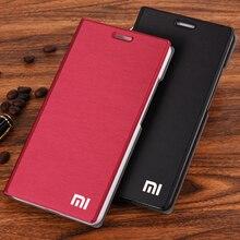 Chegam novas! Para xiaomi mi5 caso de telefone luxo estilo fino caso de couro da aleta para xiaomi mi 5 /m5 capa saco