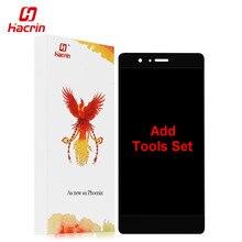 Hacrin Huawei P9 Lite ЖК-дисплей Дисплей + Сенсорный экран + Инструменты 100% новый FHD замены дигитайзер Ассамблеи для 5.2 дюймовый мобильный телефон
