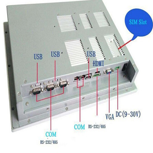 Image 4 - حار بيع 15 بوصة شاشة اللمس الكل في واحد pc البسيطة بدون مروحة الصناعية اللوحي