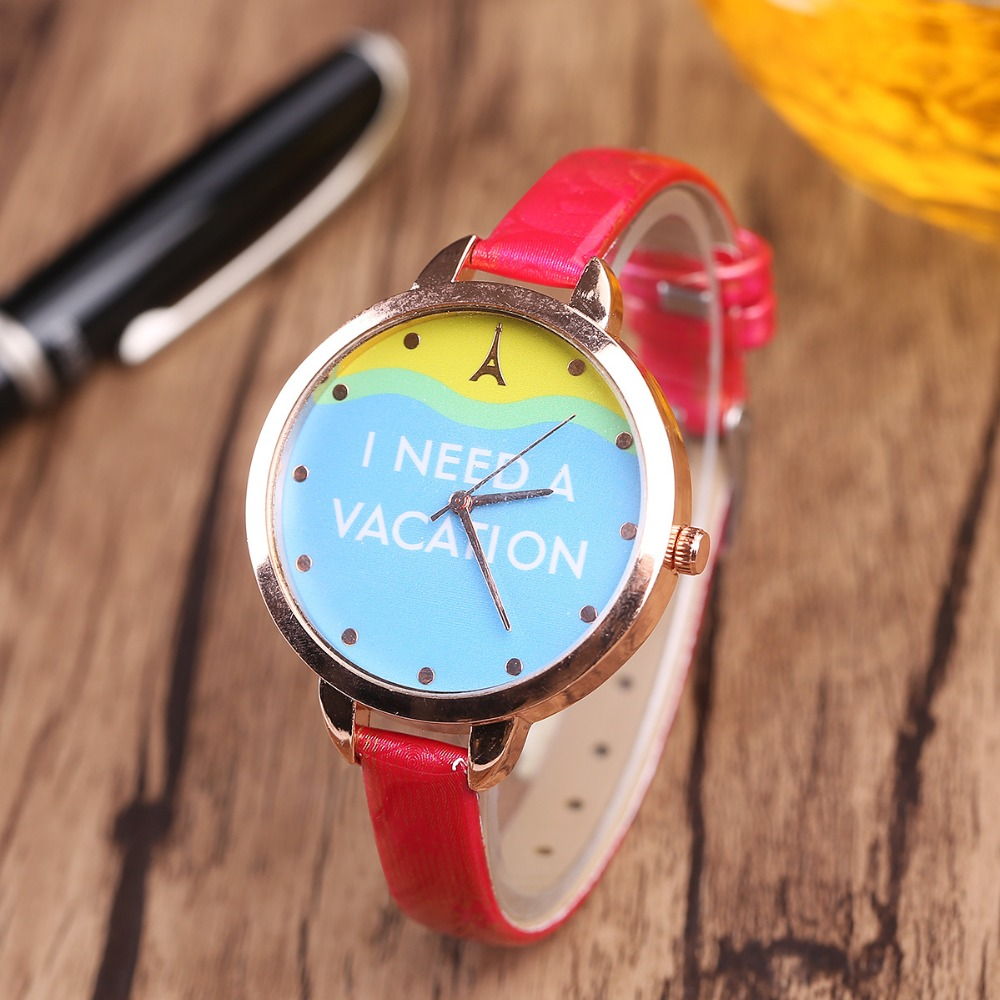 Luxury Fashion Leather Band Analog Quartz Round Wrist Watches women leather ladies Casual clock women digital women with silicone watches fashion women round dial quartz analog wrist watch casual coloful design girls gift branded ladies page page 4
