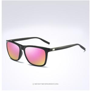 Image 2 - למעלה איכות גברים מקוטב משקפי שמש יוקרה מותג מעצב 2019 אופנה טייס נהיגה משקפיים שמש Mens שחור מחשב משקפי שמש