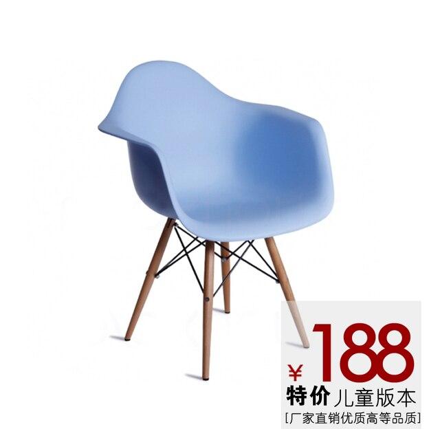 Cheap IKEA Bedroom Modern Minimalist Nordic Creative Designers Armrest  Leisure Kids Room Children Chair Dining Chairs