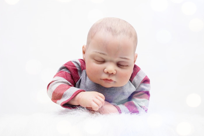 55cm Soft Cloth Body Silicone Reborn Baby Doll Lifelike Sleeping Newborn Boy Baby Reborn Doll Birthday Gift Girl Brinquedos lifelike accompany boy newborn babies sleeping doll kawaii christmas birthday gift brinquedos for kid silicone reborn baby dolls