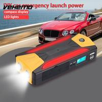 No Battery Inside HX TC LED Lamp High Capacity SOS DIY Battery Charger Car Jump Starter Automotive Power Bank Case Emergency