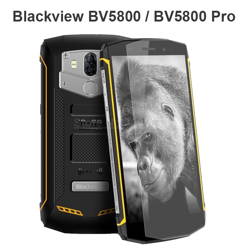2.5D Tempered Glass For Blackview BV5800 Pro Protective Film Explosion-proof 9H Screen Protector For Blackview BV5800 Glass
