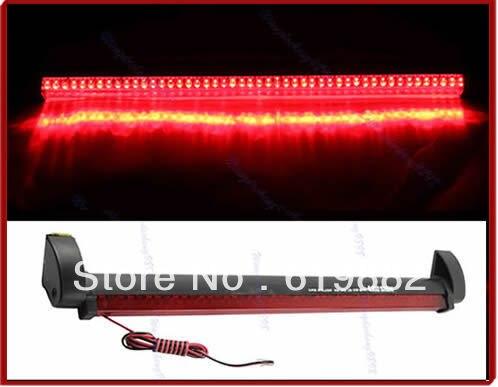 Новый 48 авто задние светодиодные тормоз предупреждение свет лампы Противотуманные стоп хвост Красный 12V