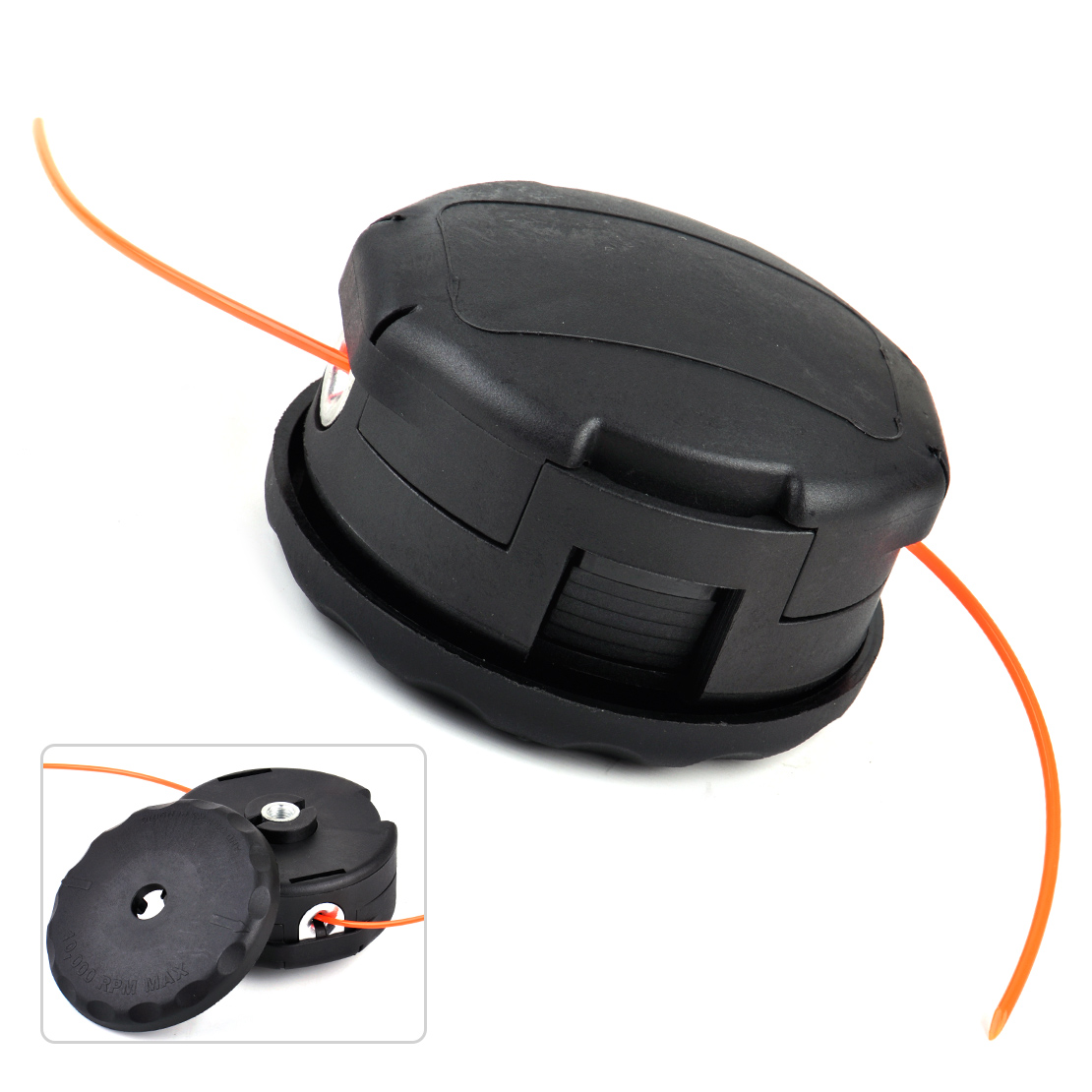 LETAOSK New 400 Bump Speed Feed String Trimmer Head fit for Echo SRM-225 SRM-230 SRM-210 Mower