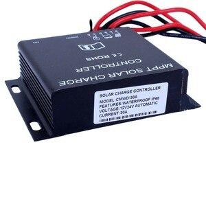 Image 5 - 30A LED MPPT contrôleur de Charge solaire 12V 24V minuterie étanche IP68 360 W/720 W
