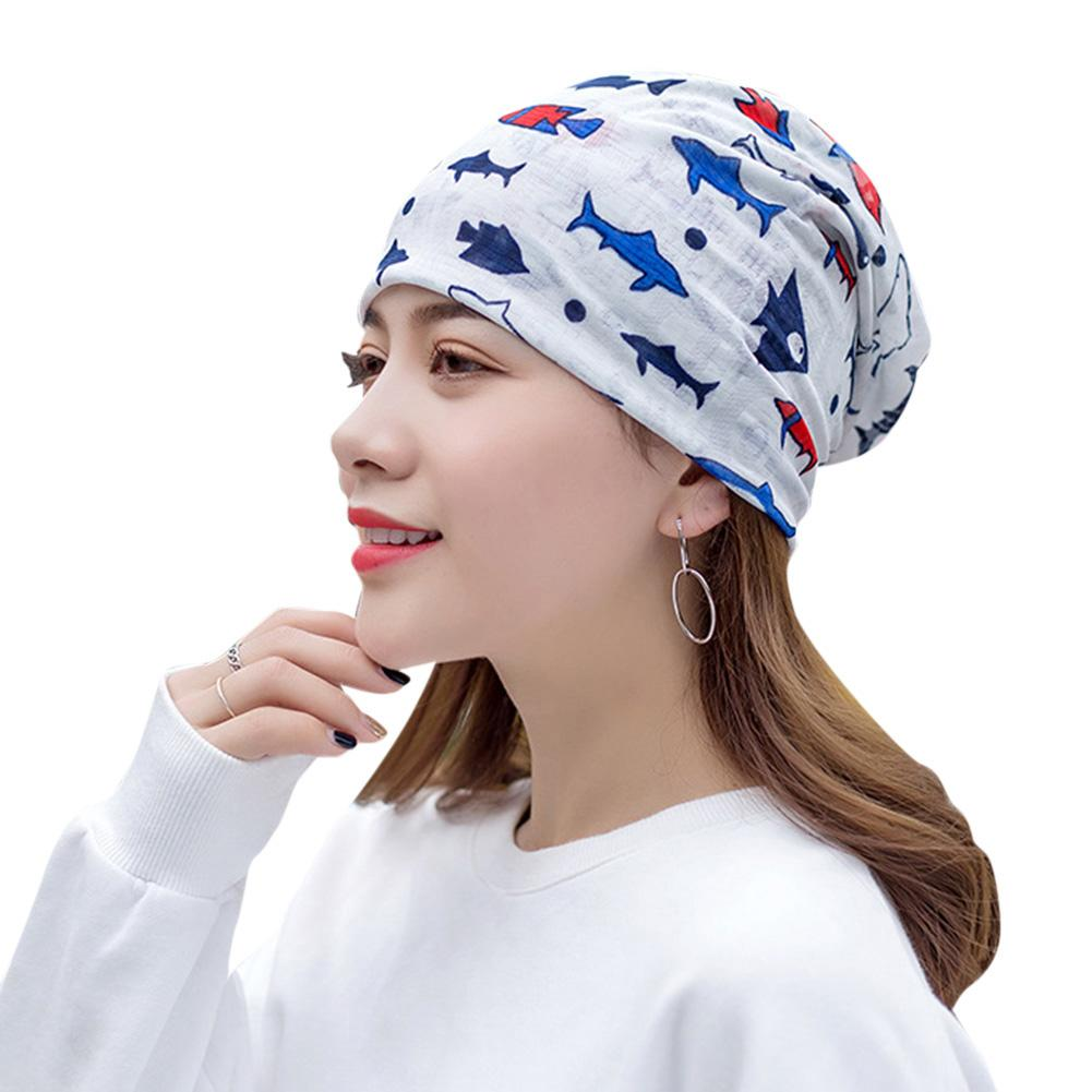 New Fashion Women's Multi-functional Hat Patient Chemotherapy Beanie Hat Hot Sale Horsetail Hat For Confinement Women (China)