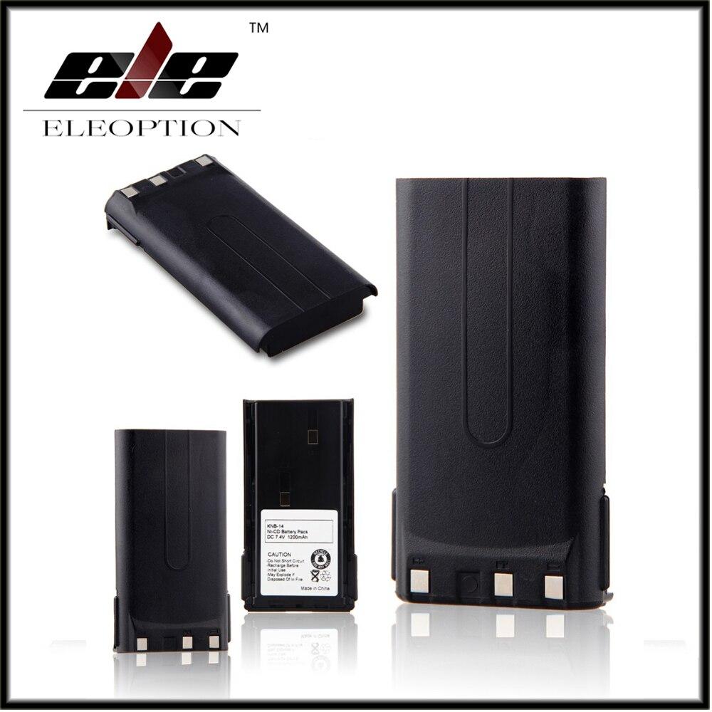 Eleoption 7.4V NI-CD <font><b>Battery</b></font> for <font><b>KENWOOD</b></font> KNB-14, KNB-14A, KNB-15, KNB-15A, KNB-15H, TK373, TK378, TK378G