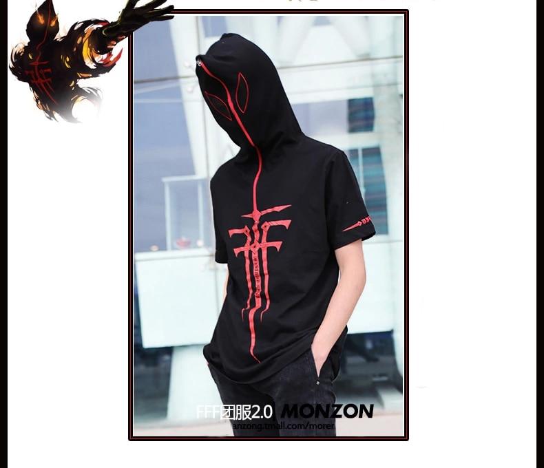 Baka to Test to Shoukanjuu FFF team costume Heresy three judge panel cosplay short sleeve Jackets couple doll clothing
