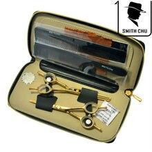 """5.5 """" profesional peluquería corte de pelo y tijeras de entresacar tijeras peluquería Razor peluquería Set caja, LZS0065"""