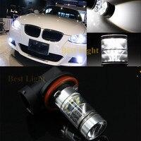 2 шт. для BMW E71 X6 M E70 X5 E83 F25 X3 E53 H11 H8 6000K белый светодиодный противотуманный светильник DRL Canbus без ошибок для вождения автомобиля