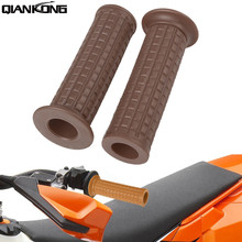 For Kawasaki ZX6R ZX9R ZX10R ZXR250 ZXR400 ZZR400 ZZR600 New Racer Motorcycle Hand Grips Rubber Handle Bar цена в Москве и Питере
