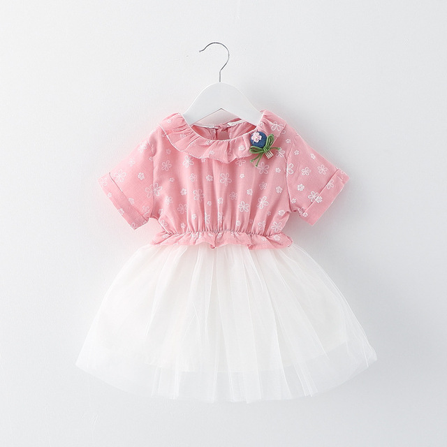 summer 2016 newborn girls tutu dress mesh splice baby girl christening gowns green 2 color zx flux suit 4-24M vestido infantil