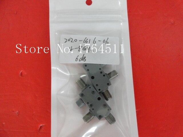 [BELLA] M/A-COM 2020-6616-06 4-8GHz Coup:6dB SMA Coaxial Directional Coupler