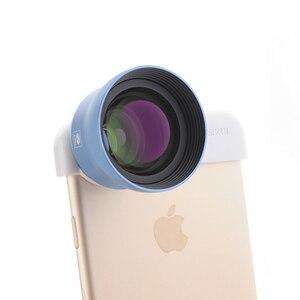 Image 2 - 思鋭 60 ミリメートル肖像スマートフォンlentille auxiliaire携帯レンズ外部高精細一眼レフミラーセットユニバーサル携帯電話レンズ