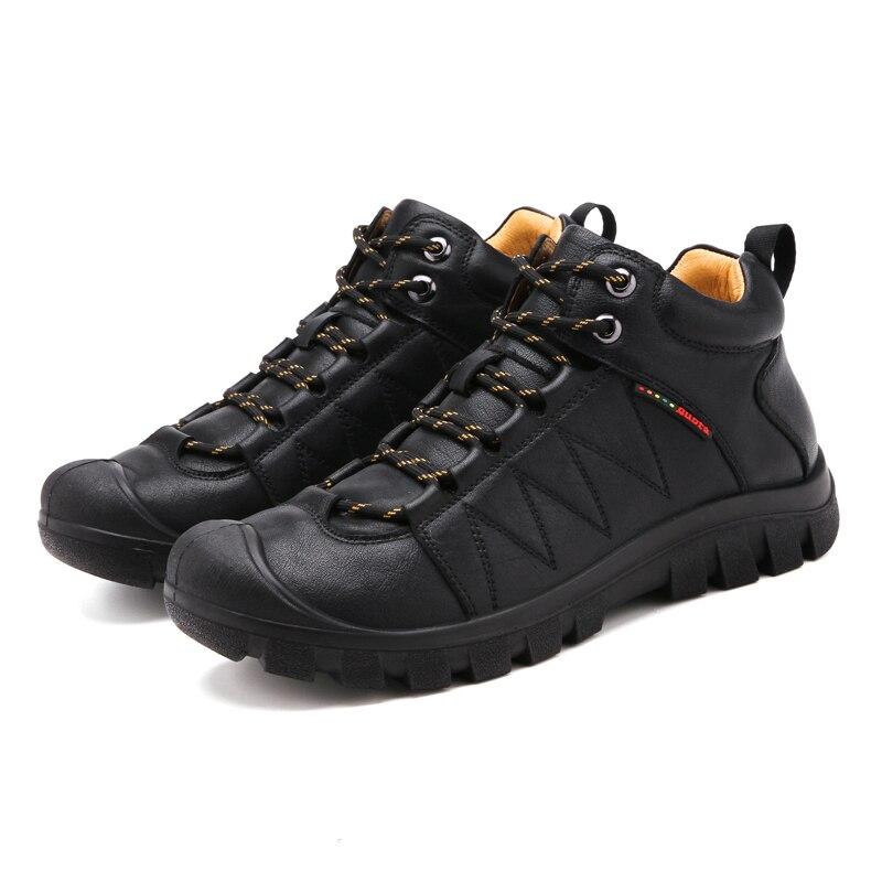 Qualité Souple Pour Randonnée Confortable En Marque Slip Mâle Adulte Black Et Vesonal Plein Sur Hommes Simple Air Cuir De Chaussures Y6gyf7b