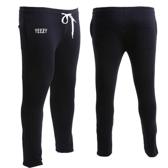 yeezy Pants Women Skateboards gymshark pants Clothing Tracksuit Skinny Tide Brand Joggers KANYE WEST YEEZY3 Sweatpants Men