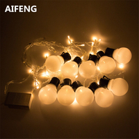 5CM Party Ball String Fairy Lights For Bedroom Balls Bulb Globe Covers Butterfly Christmas Icicle Curtain
