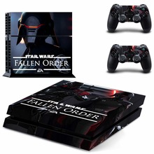 Star Wars Jedi Fallen Order PS4 Skin Sticker Decal For Sony PlayStation 4 Console and 2 Controllers PS4 Skin Sticker Vinyl