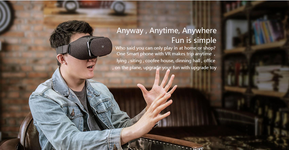 Newest Original Xiaomi Mi VR Play 2 Virtual Reality Glasses 3D Glasses Immersive for 4.7-5.7 inch for Smart Phones VR 2.0 BOX 13