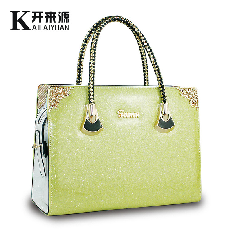 New Luxury Metal Frame Ornamental Women Bags font b Handbags b font Lady Sweet Lady font