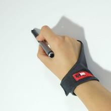 Женские серые, черные, красные противообрастающие перчатки на 1 палец, wacom, рисование, рисование, живопись, цифровые перчатки для планшета
