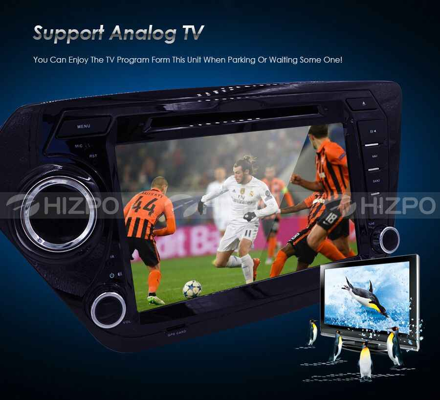 Crazy Car Monitor DVD Multi-media Player for KIA RIO K2 with Radio,GPS  Navigation,TV,SWC,BT,USB/SD,Russian menu 3G Free 8GB Map
