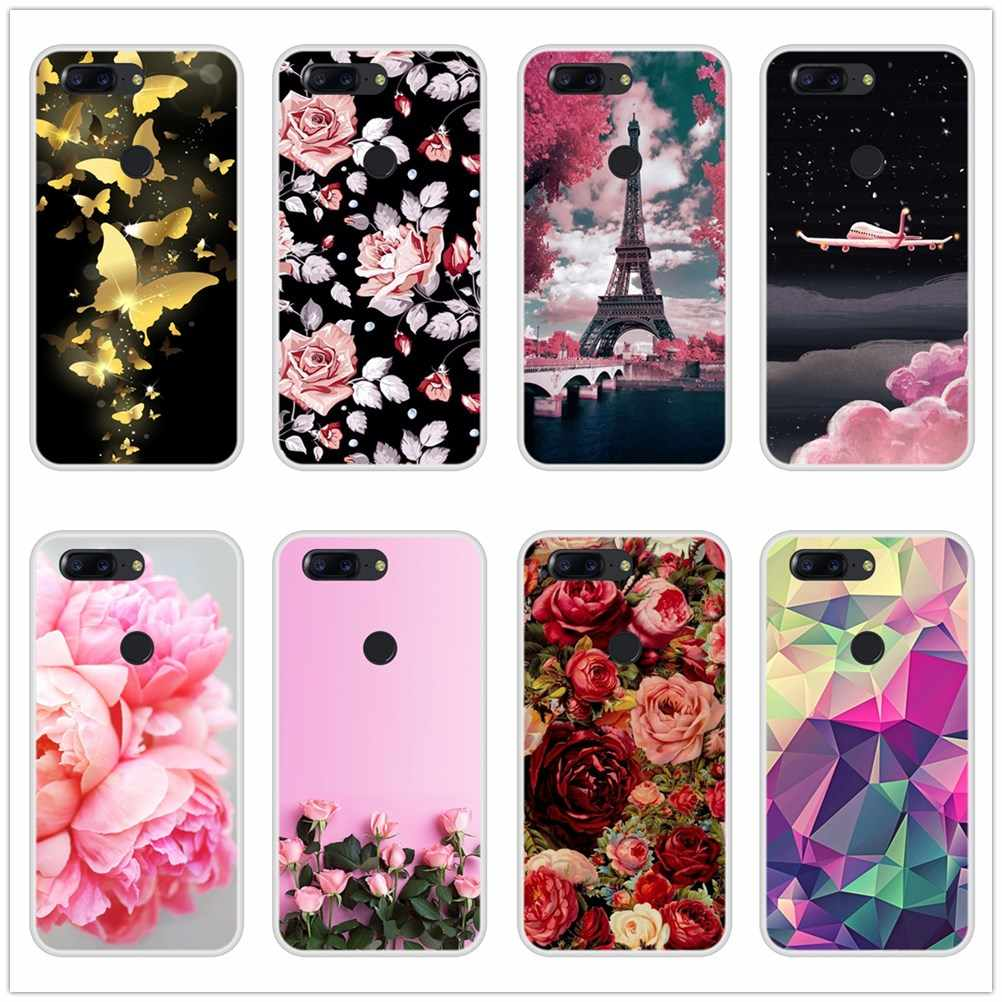 Fashion Phone Cases For OnePlus 3 3T 5 5T 6 6T Fundas Coque For One Plus 3 3T 6 6T 5 5T  Silicone Case Soft Back Cover