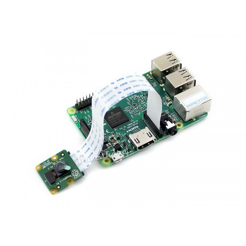 Official Raspberry Pi Camera Module V2 RPi Camera V2 supports all revisions of the Pi 8 Mega 3280 * 2464 picture resolution