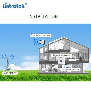 Image 5 - Lintratek אות סלולארי 900 1800 2100 GSM Tri Band מגבר אות ניידת מהדר DCS WCDMA 2G 3G 4G LTE אנטנה #40