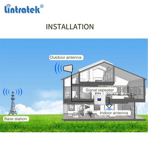 Image 5 - Lintratek cellular Signal Booster 900 1800 2100 GSM Tri Band Amplifier Mobile Signal Repeater DCS WCDMA 2G 3G 4G LTE Antenna#40