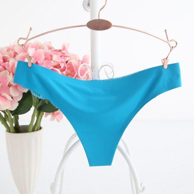 Ixuejie Hot Women Sexy Seamless Underwear Women Panties G String Women's Briefs Calcinha Lingerie Tanga Thong For Women