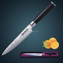 """Huiwill damaskus messer 6 """"japanischen vg10 damaststahl küchen extras/universal messer mit geschmiedet g10 griff"""